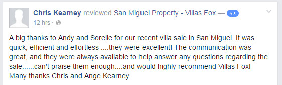 Review of Villas Fox Spanish Bank Properties