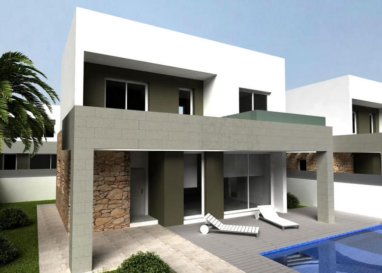 3 bedroom, 3 bathroom villa in Torrevieja only 339,000 euros
