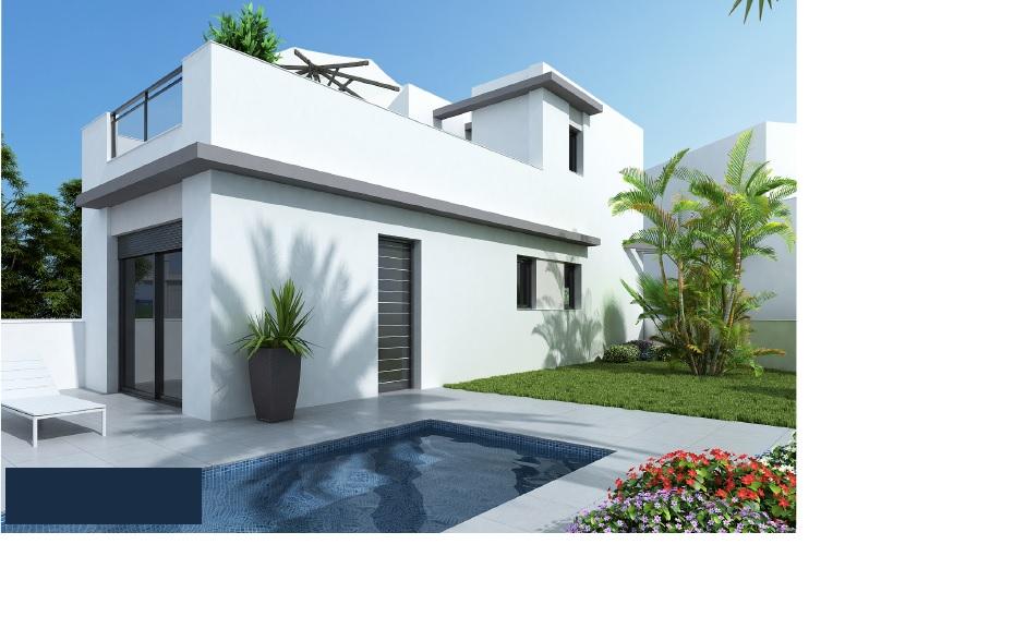 3 bedroom, 2 bathroom villa in Torrevieja only 265,000 euros