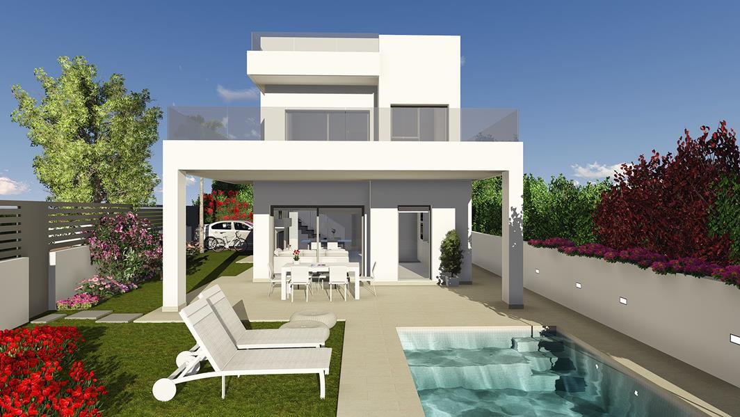 3 bedroom, 3 bathroom villa in La Marina only 380,000 euros