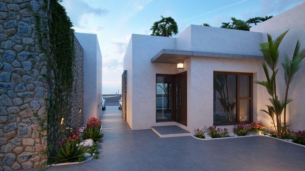 2 bedroom, 2 bathroom villa in Orihuela Costa (Cabo Roig) only 253,000 euros