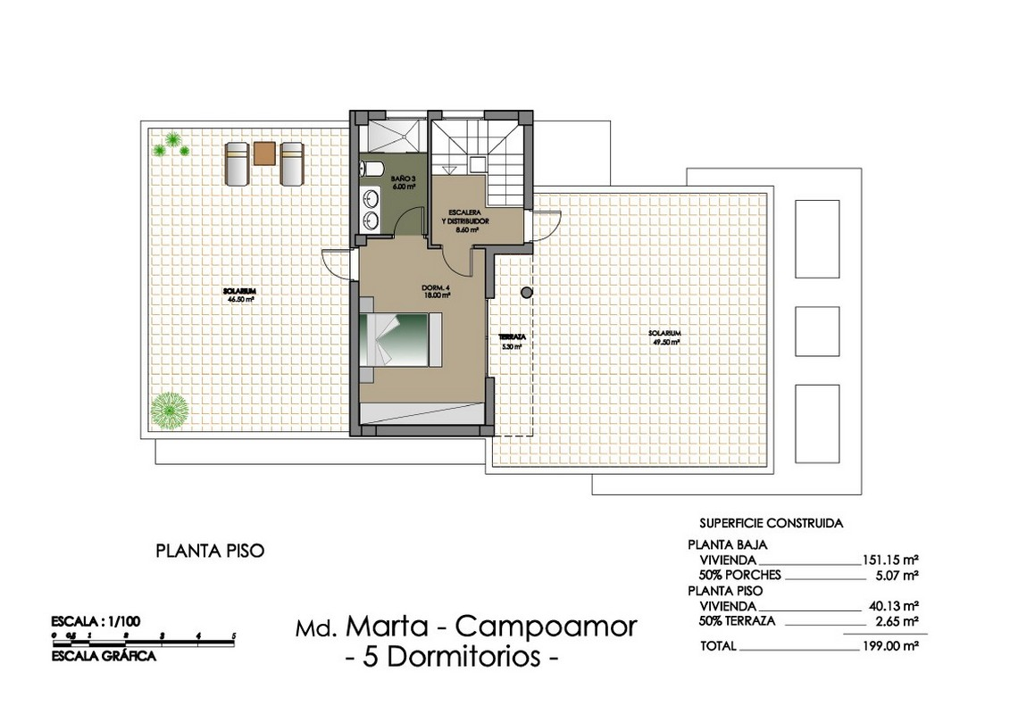 4 bedroom, 4 bathroom villa in Orihuela Costa (Campoamor) only 769,000 euros