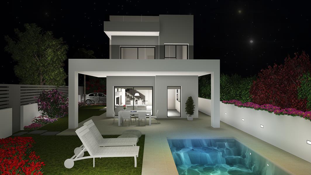 4 bedroom, 3 bathroom villa in La Marina only 420,000 euros