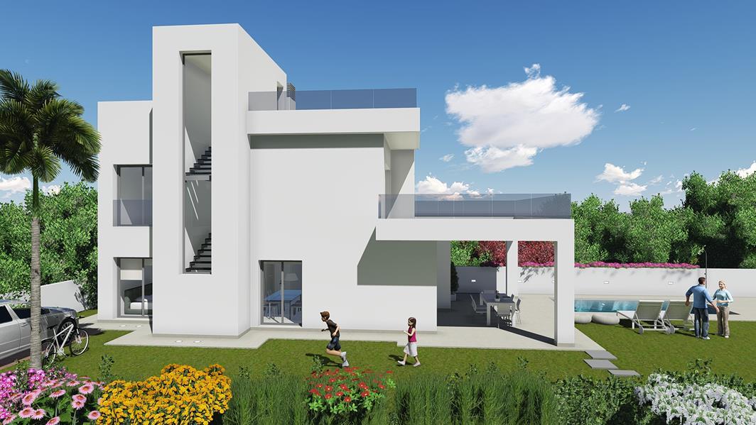 4 bedroom, 3 bathroom villa in La Marina only 380,000 euros