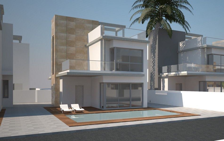 4 bedroom, 4 bathroom villa in Torrevieja only 314,000 euros