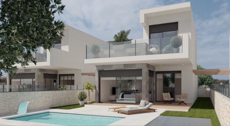3 bedroom, 2 bathroom detached villa in Orihuela Costa (Cabo Roig) only 342,995 euros