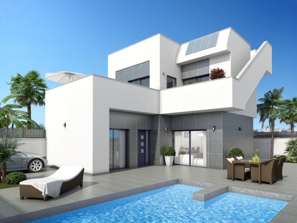 3 bedroom, 3 bathroom villa in Ciudad Quesada (Rojales) only 233,700 euros