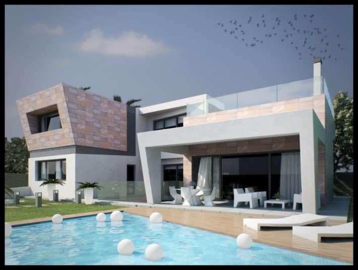 4 bedroom, 4 bathroom villa in Orihuela Costa (Campoamor) only 960,000 euros