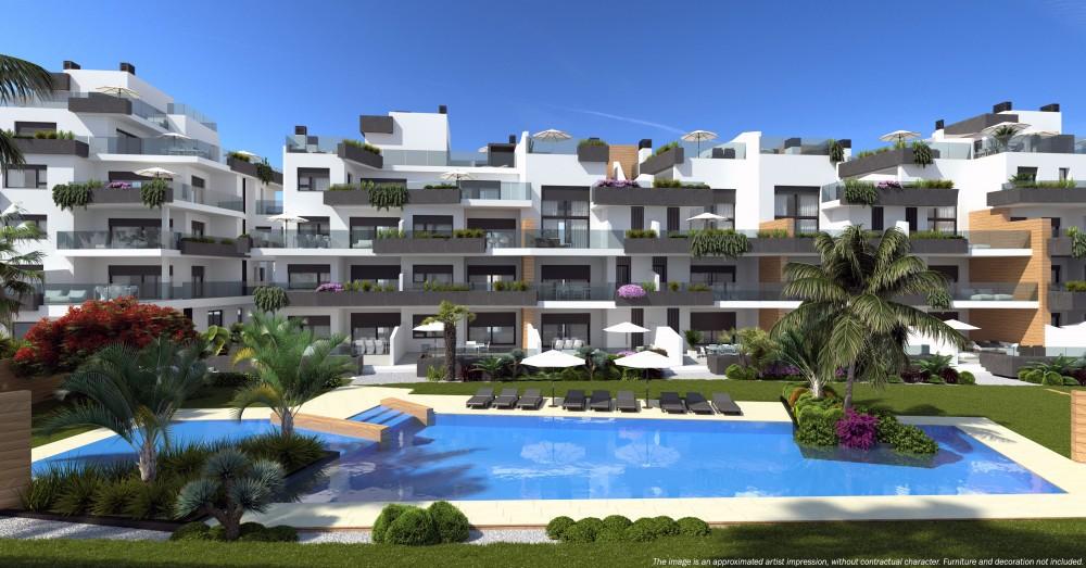 3 bedroom, 2 bathroom apartment in Orihuela Costa (Villamartin) only 252,000 euros