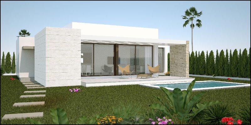 3 bedroom, 2 bathroom detached villa in Los Montesinos (Vistabella Golf) only 259,900 euros