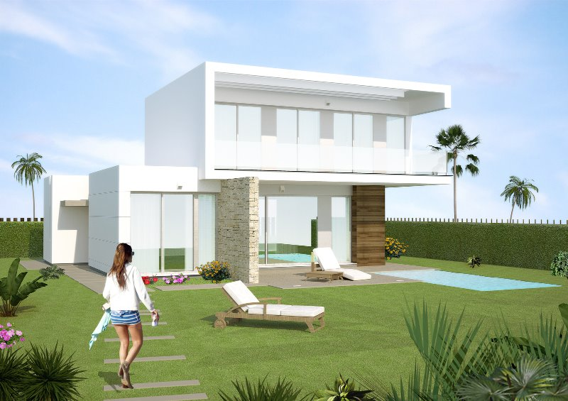 3 bedroom, 4 bathroom detached villa in Los Montesinos (Vistabella Golf) only 329,900 euros