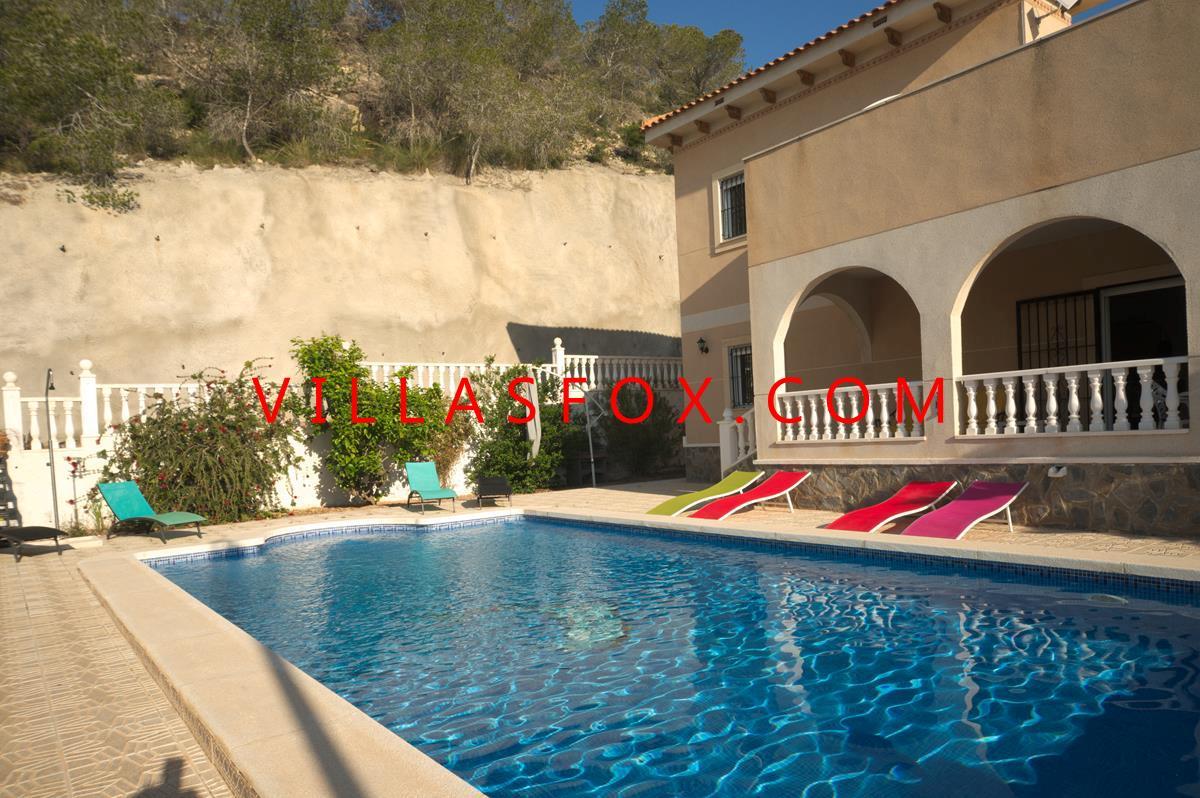 Magnificent 4 Bedroom Detached Villa With 10x5m Pool Villasmar A San Miguel De Salinas