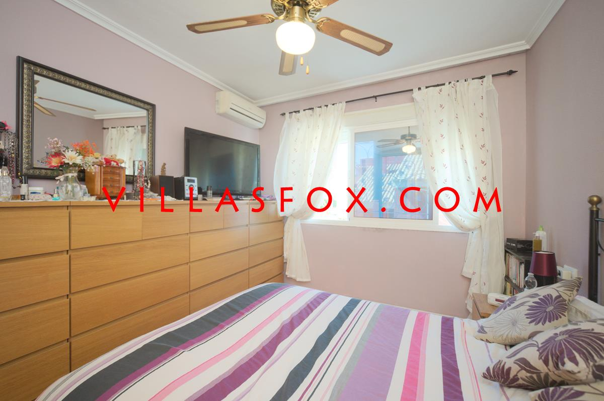 2-bedroom apartment with glazed-in terrace, spacious lounge, solarium only 74,995 euros!