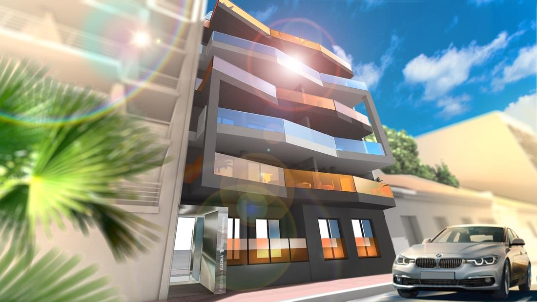 2 bedroom, 2 bathroom apartment in Torrevieja only 170,000 euros