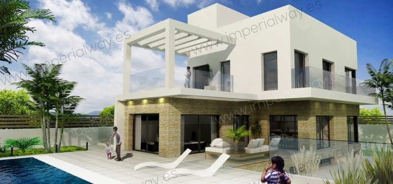 4 bedroom, 4 bathroom villa in Orihuela Costa (La Zenia) only 960,000 euros