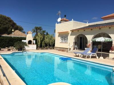 4 bedroom, 2 bathroom villa in Orihuela Costa (Cabo Roig) only 636,000 euros
