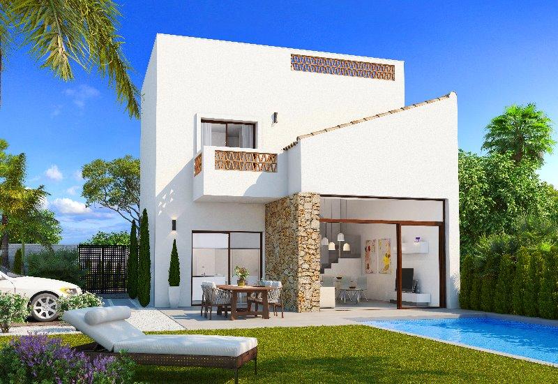 3 bedroom, 3 bathroom detached villa in Benijofar (Villa Biseri) only 229,900 euros