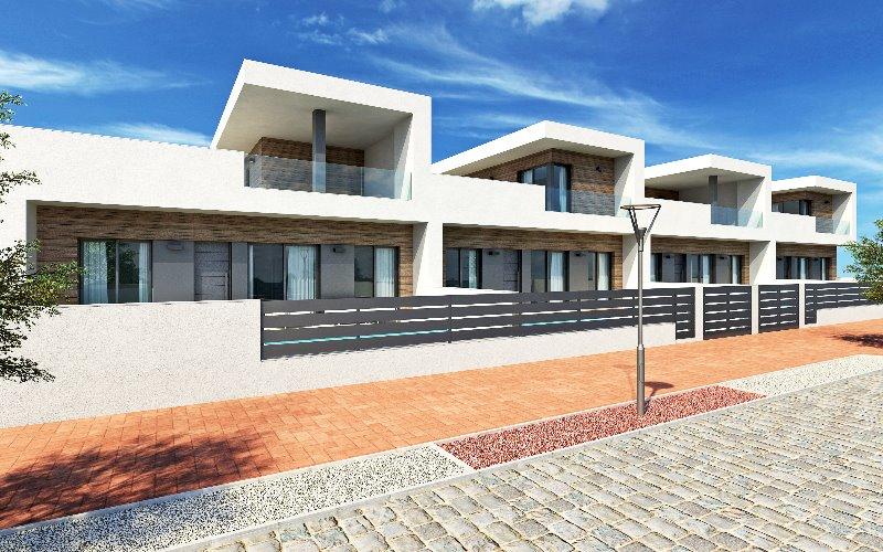 2 bedroom, 2 bathroom semi detached house in Formentera del Segura (Res. Novomar III) only 187,500 e