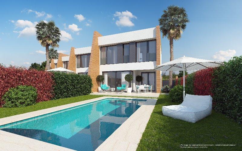 3 bedroom, 3 bathroom semi detached house in Orihuela Costa (Villamartin) only 345,000 euros
