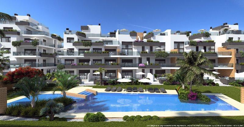 3 bedroom, 2 bathroom penthouse in Orihuela Costa (Villamartin) only 365,000 euros