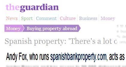 Spanish Bank Property Guardian Article